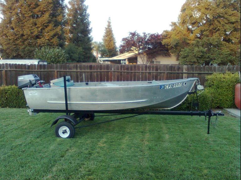 My Aluminum Boat