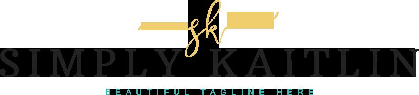 Simply Kaitlin Blog Design
